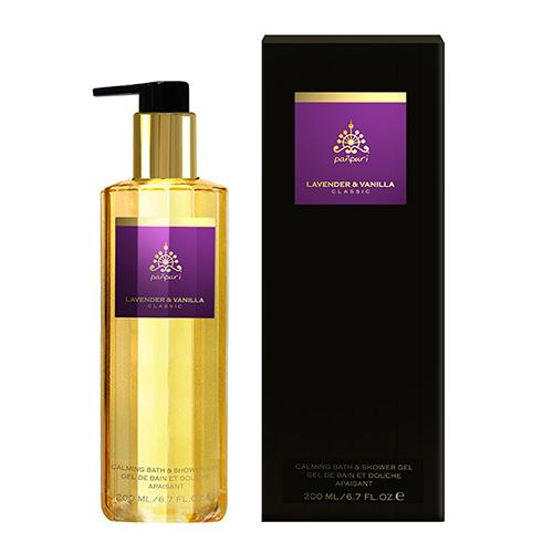 Lavender & Vanilla Calming Bath Shower Gel