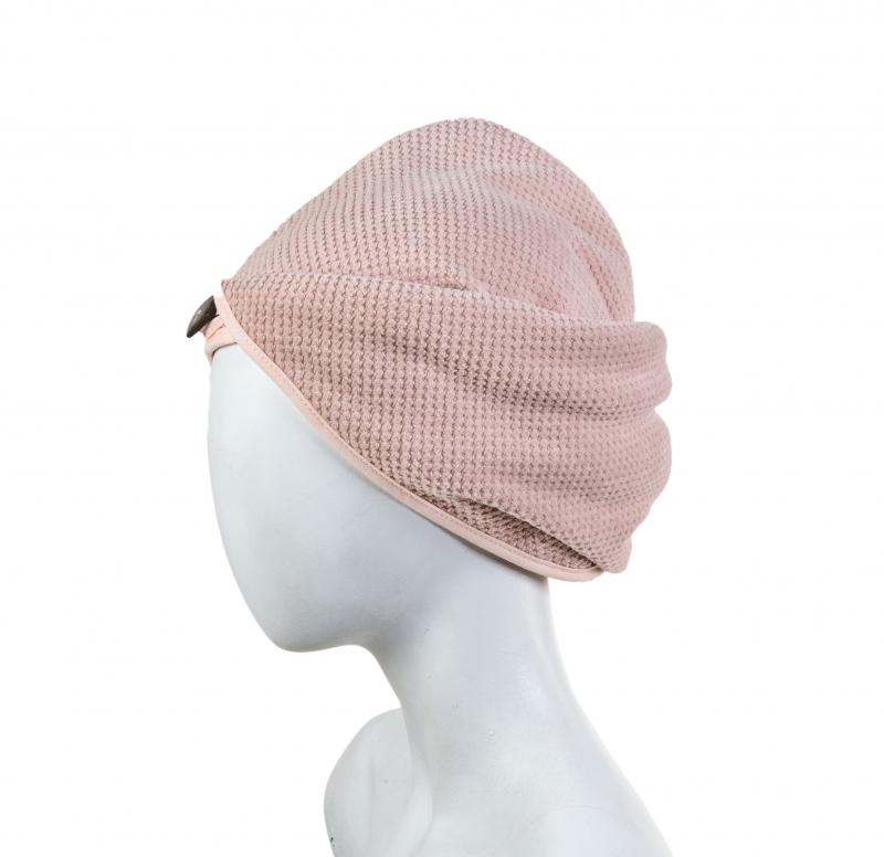 핑크 헤어캡